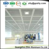 Venta caliente Sound-Absorbing suspendido falso techo de aluminio para Centro Comercial