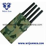 Portátil com tampa de camuflagem do sinal de GPS do telefone móvel Jammer