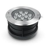 LEIDEN van de openlucht LEIDENE Treden van Inground Lichte IP65 RGB 7W Ondergronds Licht