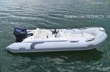 Liya 4.3m de Kleine Boot van de Rib van de Vissersboot van de Glasvezel Kleine