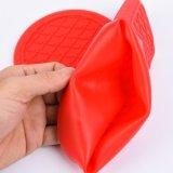 Термостойкий кухонные рукавицы Non-Slip кухня силиконового герметика для приготовления пищи перчатки