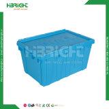 Promotion de la Caisse de transport de fruits empilables solide en plastique se déplaçant fourre-tout récipient de stockage de la logistique Box