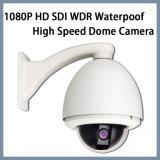 1080P HD SDI WDR imprägniern Hochgeschwindigkeitsabdeckung-Überwachungskamera