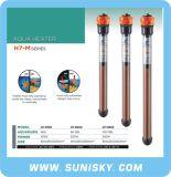 Automaticamente calefator do aquário com com série da eficiência H7-M do aquecimento da elevação