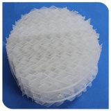 PP/PVC/PVDF/PPR empaque estructurado de plástico para la purificación de gas de cola