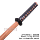 Spade di legno cinesi di arte marziale 100cm Jotswd255/Jotswd256