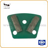 2 segments de dents Cross Meule outil de meulage de diamant de haute qualité pour la pierre de la plaque de meulage