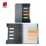 カラーペーパープラスチックカバー螺線形Notebook&#160のクラフト卸し売りラインペーパー;