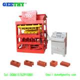 Le bloc Maker Eco 7000 Master Plus d'argile en brique de verrouillage automatique Making Machine