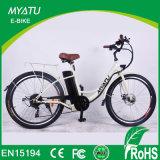 Bici auxiliar del pedal E de 26 señoras de la pulgada
