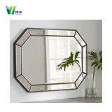 De duidelijke en Kleurrijke Spiegel van het Aluminium, Zilveren Spiegel voor de Bouw van Decoratief Huis
