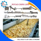 Les croustilles/banana chips chips de manioc/machine de production pour la vente