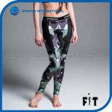 2017 Novo Camouflage Impresso Sporting Perneiras Mulheres Sexy Lady Legging Fitness Mulheres Lazer calças desportivas