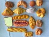Modelo falso blando decorativo del pan de la PU de la calidad para la visualización de la panadería