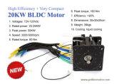 96V 20kw de Elektrische Motor van de Auto met Controlemechanisme