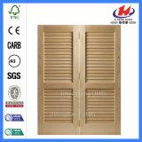 Традиционная одиночная складывая дверь шкафа типа штарки Louvered
