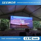 Hight Kontrast P8mm druckgießende Aluminium-LED-Bildschirmanzeige für Stadium und das Bekanntmachen