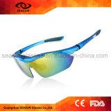 Gafas de sol corrientes de Arms Gafas De Sol Unbreakable del ojo del montar a caballo protector ULTRAVIOLETA anti permutable de la bici