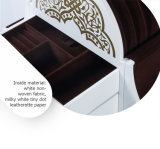 Luxury Middle East Style Multi Drawer White Jewelry Case