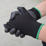 PU beschichtete Arbeits-Handschuhe/Arbeitsversicherungs-Handschuhe/Sicherheits-Arbeitshandschuhe