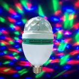 220V 110V 5V E27 소형 LED Mirco USB RGB 마술 공 음악 소리 통제 KTV DJ 디스코 단계 램프 효력 투상 프로젝트 공 빛