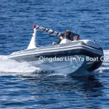 Liya 19FT 10 Passagier-Boots-Militärrippen-Boote für Verkauf