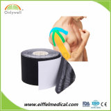 Высокая липких хлопка эластичные спортивные ISO Ce FDA Kinesiology ленту