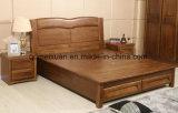 固体木のベッドの現代ベッド(M-X2743)
