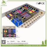 Fabricación profesional de China del diseño del parque libre del trampolín