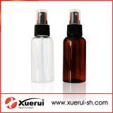 Acções de promoção 75ml garrafa de plástico PET para embalagens de cosméticos