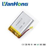 batterie de Li-Polymère de 403450pl 650mAh pour le GPS