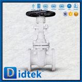 Didtek Handrad-Flansch Wcb Absperrschieber für Raffinerie
