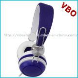 Cuffia avricolare stereo promozionale della cuffia a gettare popolare senza Mic