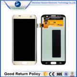 Het mobiele LCD van de Telefoon Scherm van de Vertoning voor de Rand van de Melkweg van Samsung S7 G935