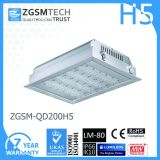 최신 Sale Gas Station 200W Low Bay LED Canopy Light