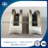 工場価格の正方形のガラスホールダークリップステンレス鋼ガラスクランプ