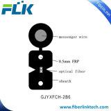 FTTH 옥외 광섬유 숫자 8 편평한 하락 케이블 FRP