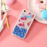 Flamingo caliente líquido arenas movedizas de teléfono de diseño personalizado de los casos para el iPhone x