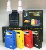 Casa nueva DC USO Kit de iluminación solar con la función de carga móvil