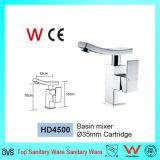 Marca de agua de alimentación de la plaza de la fábrica de latón de la cuenca del cuarto de baño toca (HD4500)