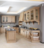 Armário de cozinha em madeira maciça da China (PR-K2016)