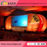 Intérieur en extérieur Location Affichage LED de la publicité en couleur avec les événements P3.91, P4.81, P5.95. P6.25 de bord