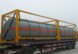 40FT 화학제품 연료유 액체 저장 ISO 강철 탱크 콘테이너