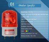 Lte-1101回転式警報灯の緊急の警報灯