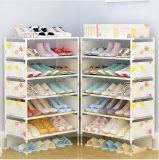 Armoire de racks de chaussures Chaussures de grande capacité de stockage de mobilier de maison bricolage simple chaussure Portable Rack (FS-10) 2018