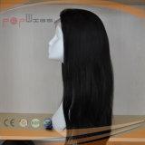 Parrucca diritta naturale del merletto dei capelli umani (PPG-l-0665)