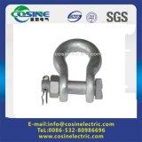 Galvanizados a quente Poleline Hardwares/Porcas dos olhos/Conexões do Isolador