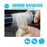 Reparação dos Tubos resistentes à corrosão Kit bandagem de Fita Flexível