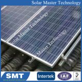 De aluminio anodizado Alumium soportes de montaje de paneles solares con gancho de techo