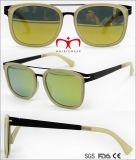 Nova Moda óculos de sol com o Templo de Metal (WSP705895)